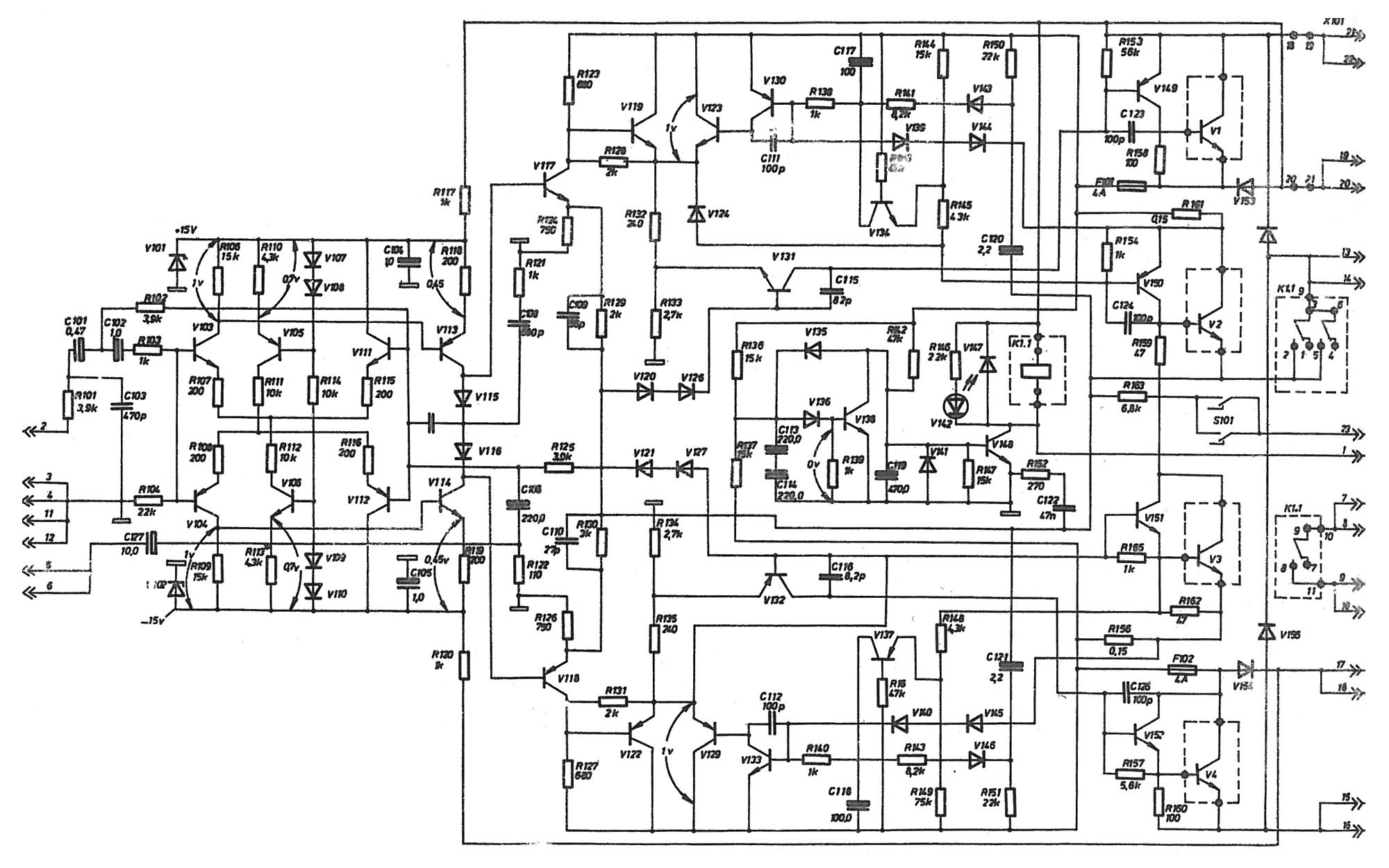 reducing distortion in this class b circuit
